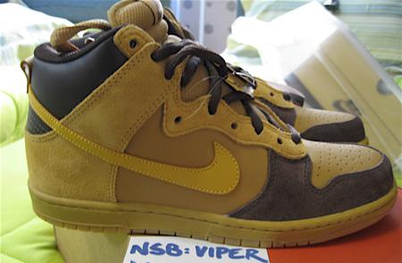 Nike Dunk SB High Brown Pack 2
