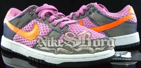 Nike Dunk Low Purple Pink/Orange Sample