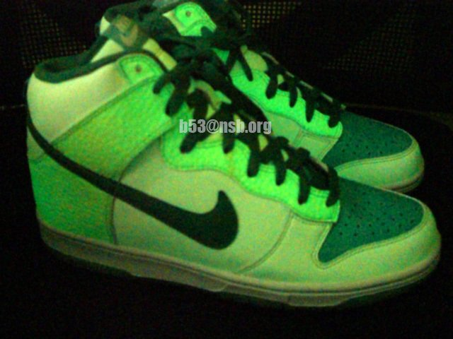 Nike Dunk High 2nd Version Glow in the Dark