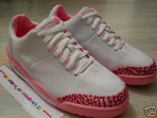 Air Jordan 23 Classic White/Pink Sample