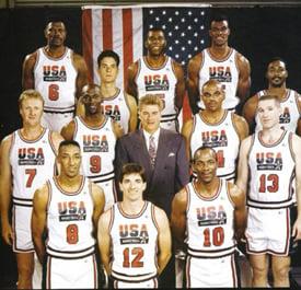 Michael Jordan 1992 Olympics