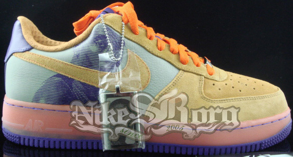 sale retailer d5682 34fcb Nike Air Force One Amare Stoudemire Six Series