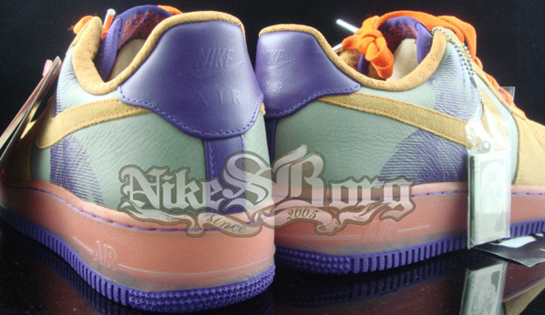 Nike Air Force One Amare Stoudemire Six Series