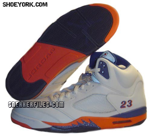 Air Jordan V PE New York Knicks