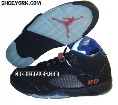 Air Jordan V PE New York Knicks