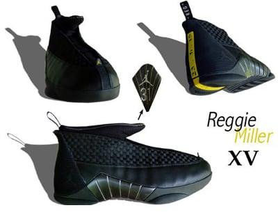 Reggie Miller Jordan PE XV 15
