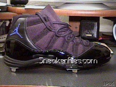 Derek Jeter Jordan XI 11 PE Cleats