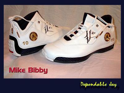 Mike Bibby Jordan PE XVIII 18