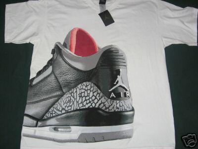Possible Air Jordan III Black/Cement Retro Shirt