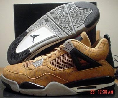 Air Jordan Retro IV MJ Only Samples