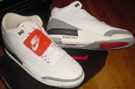 air jordan 3 white cement 1988 olympics