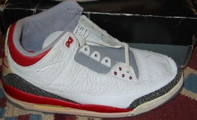 huge discount a6cdb 3ff8a Air Jordan 3 III History, Colorways | SneakerFiles