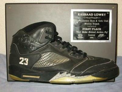 promo code 5e923 ba7d4 Original Jordan V 5 Black Metallic Silver 23