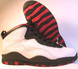 history of the air jordan 10 dark