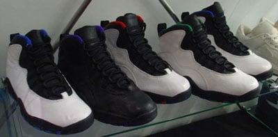 Nike Air Jordan 10 X Sens Édition Des Supersonics Seattle