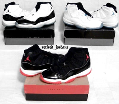 new high half price great prices Air Jordan 11 XI History, Colorways | SneakerFiles
