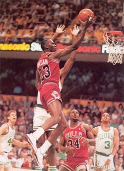 Michael Jordan 1985-1986 Season