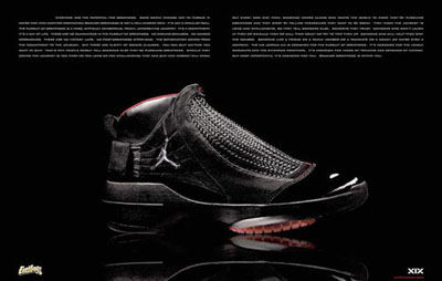 air jordan xix black red