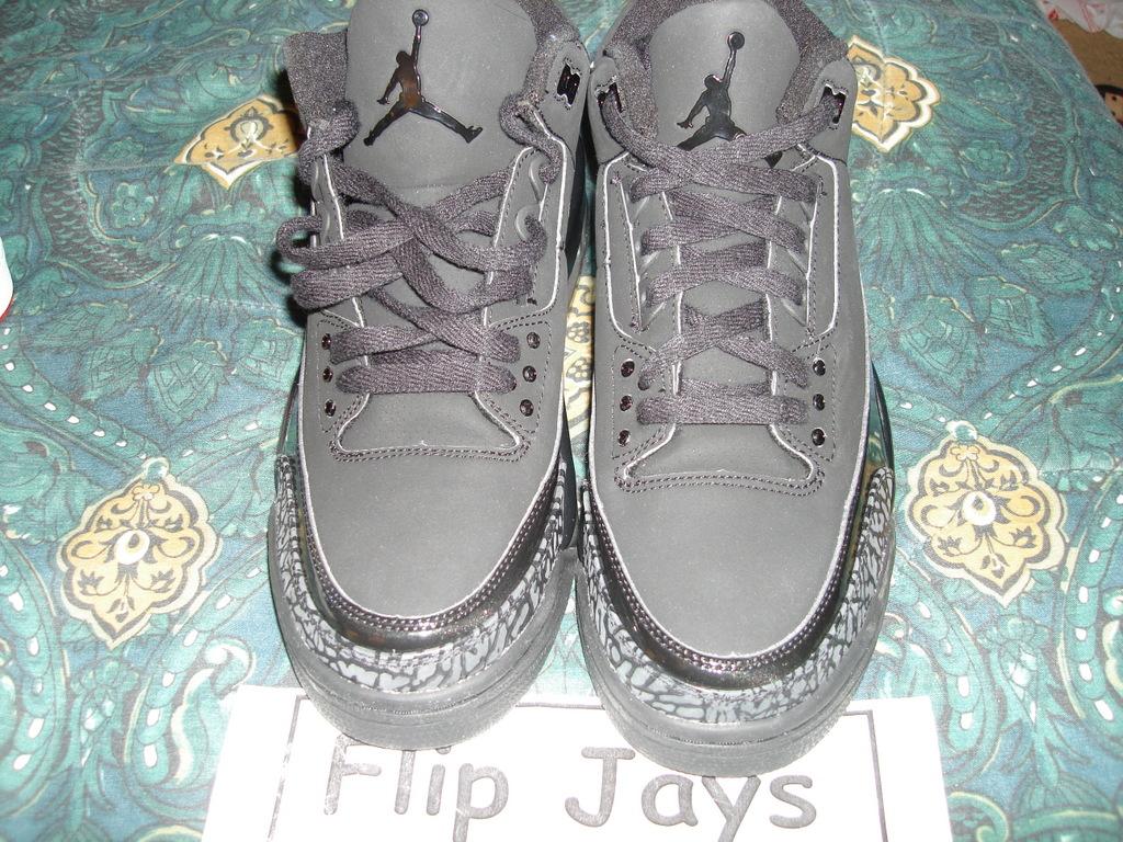 Air Jordan Retro III Black Cat 2007