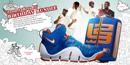 Nike Lebron IV Birthday Pack Update