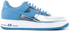 Clear & Invisible Nike Air Force One