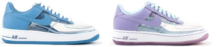 Clear and Invisible Nike Air Force One