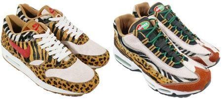 nike air max 1 supreme safari animal pak 2006 limited