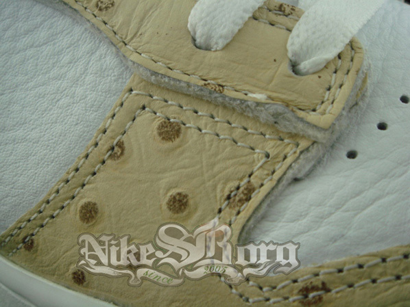 Nike Dunk Low Sample Wood Khaki/White