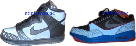 Nike Dunk High & Nike Assault Low 3M