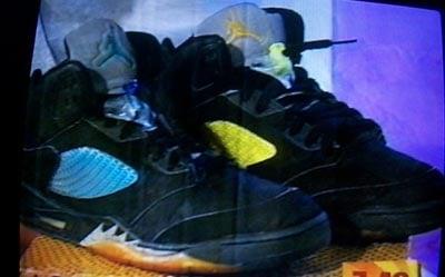 Air Jordan Original V Colored Netting