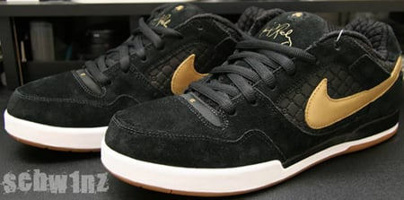 Nike SB P Rod 2 Black/Gold