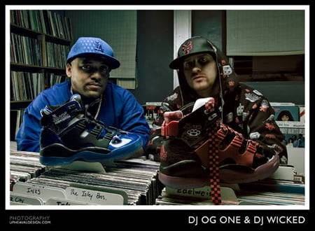 Addias x DJ Wicked and Dj OG One