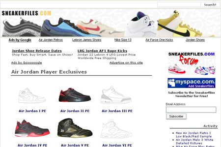 Air Jordan & Nike Player Exclusive Section Up