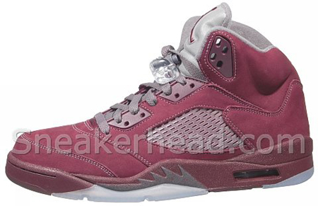 Air Jordan V Burgundy Releasing this Month