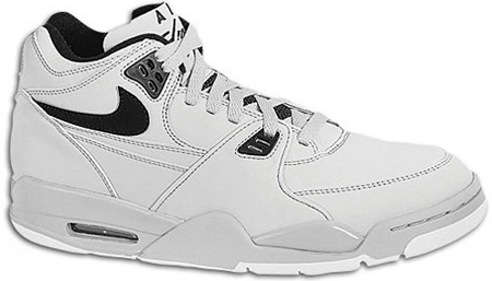 New Nike Air Flight 89 Neutral Grey/Black/White