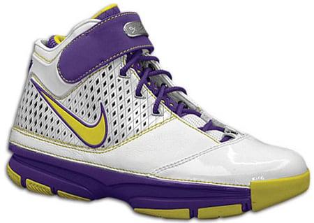 Nike Zoom Kobe II Laker Color Way