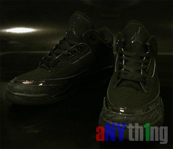 Air Jordan Retro III Black Cat and Pures