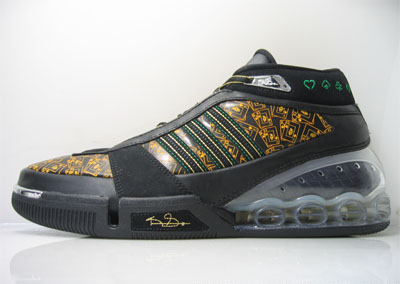 Adidas KG 4 Black Yellow