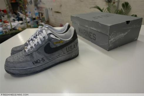 Nike Air Force 1 The Courts A Battlefield
