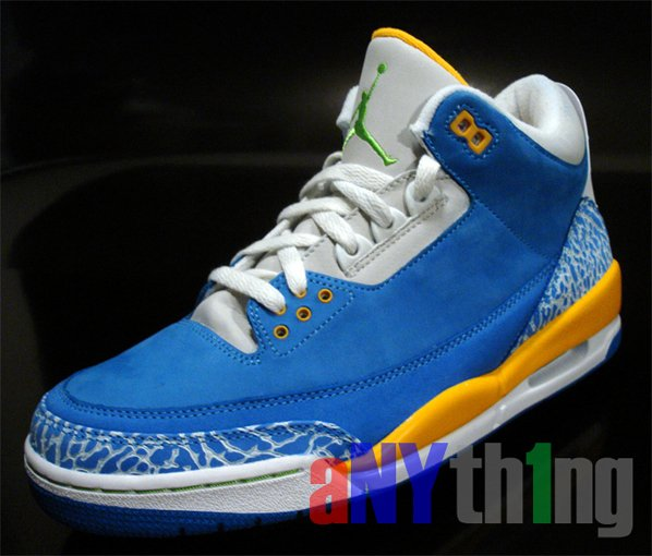 Air Jordan Retro 3 Spike Lee Vol. 2