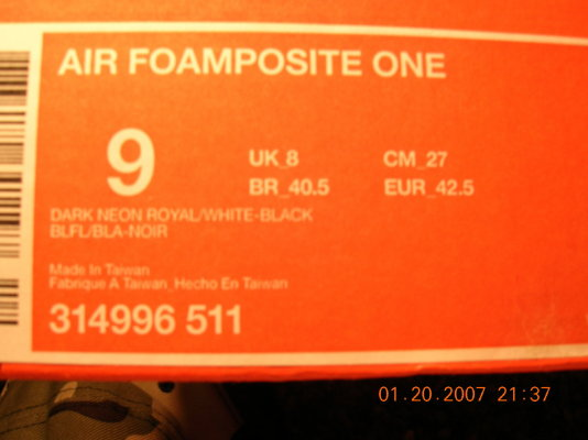 Nike Foamposite 1 Penny Released in NYC