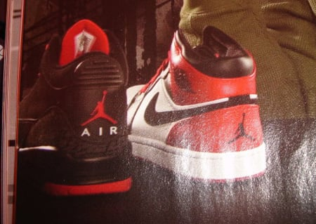 Air Jordan III Black/Red the Next Big Release
