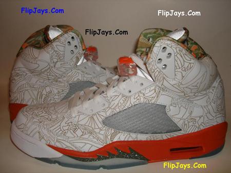 Air Jordan Retro V Laser Detailed Look