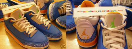 New Air Jordan Retro III Spike Lee Pictures