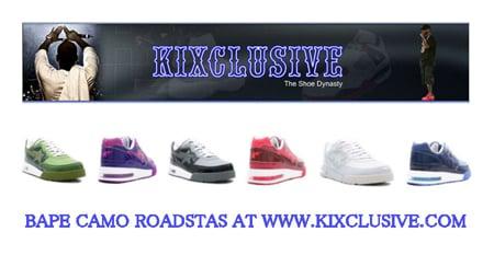 New Bapes & Original Jordans At Kixclusive.com