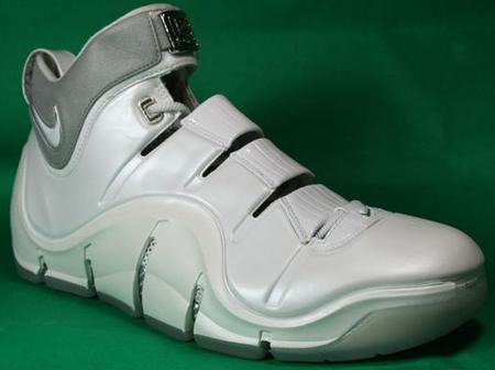 Nike Zoom Lebron IV White/White