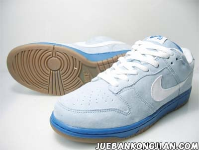 New Nike Dunk SB Low Blue/White
