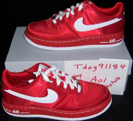 Nike Air Force 1 Valentines Day 2007 Sneakerfiles