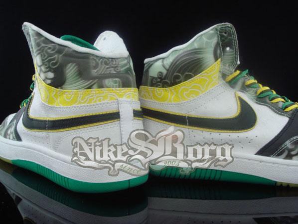 Nike Court Force High 3D Brazil