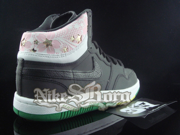 New Nike Court Force High Reflective